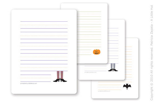 Printable Halloween Cards for Kids