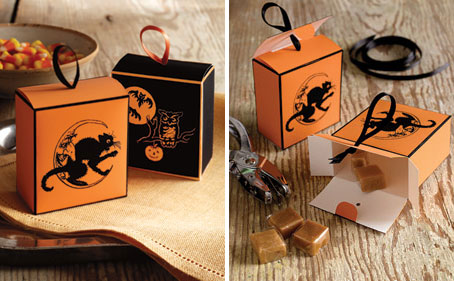 Printable Halloween Treat Box Template
