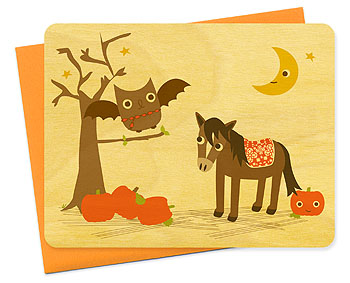 Night Owl Press Halloween Card
