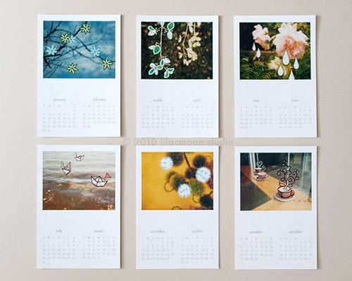 Poladoodles Polaroid 2011 Calendar