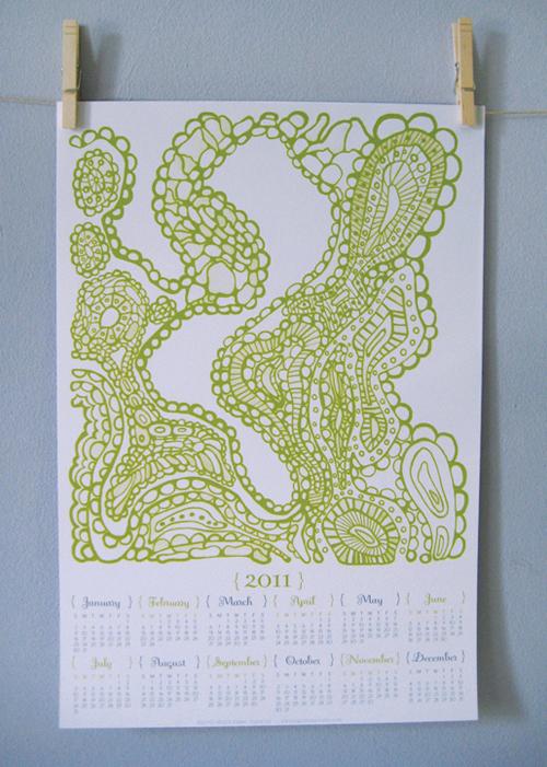 Paper Squid 2011 Calendar