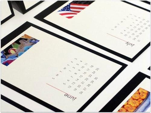 Redline Design Calendar
