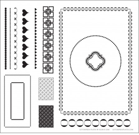 Elum Quickutz Letterpress Plates