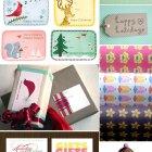 Free Printable Holiday Tags Gift Wrap