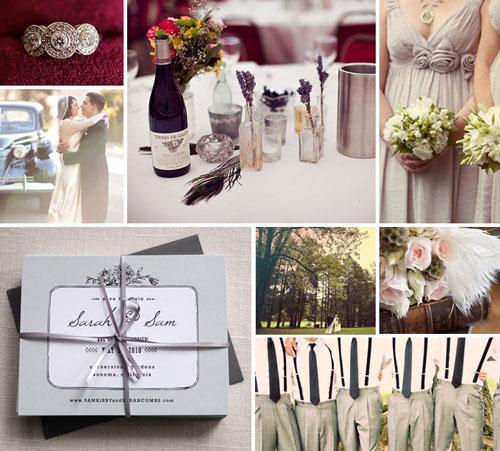 Vintage Save the Date Wedding Inspiration