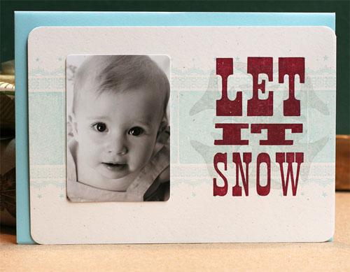 Letterpress Photo Cards
