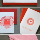 Dingbat Press Letterpress Valentine's Day Cards