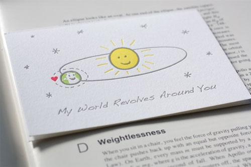 Fat Bunny Press Letterpress Valentine
