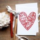 Karolin Schnoor Valentine's Day Card