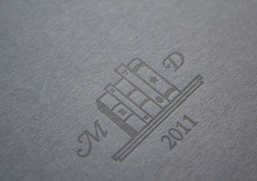 Letterpress Printed Storybook Cover
