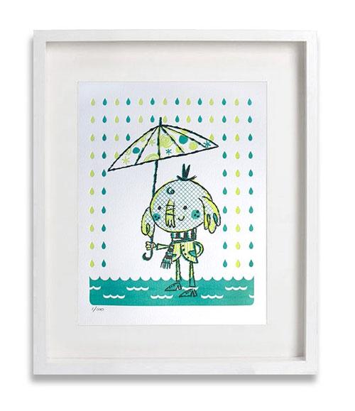 Alberto Cerriteno Elephant Umbrella Print