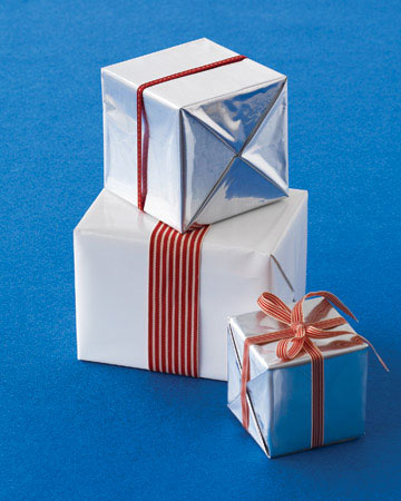Recycled Chip Bag Gift Wrap