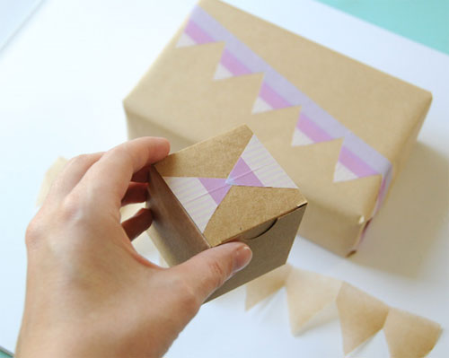 How to Make Masking Tape Borders