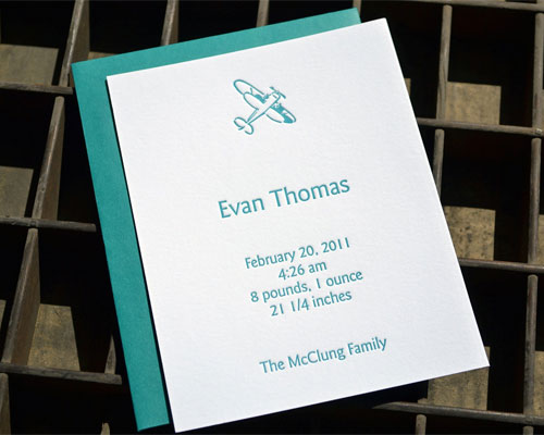 Affordable Birth Announcements