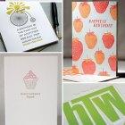 Letterpress Birthday Cards