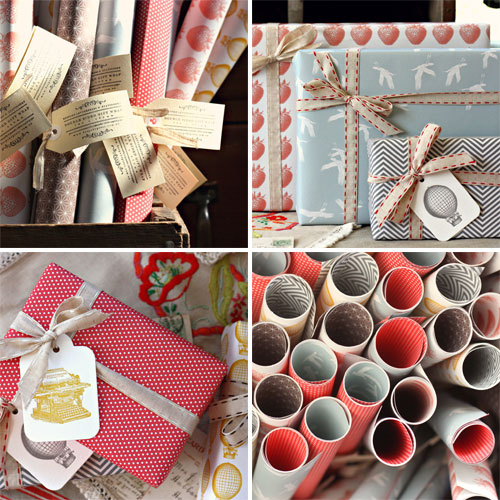 Modern Double-Sided Gift Wrap