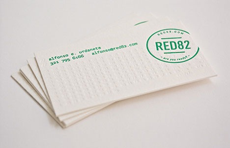 Red82 Business Card