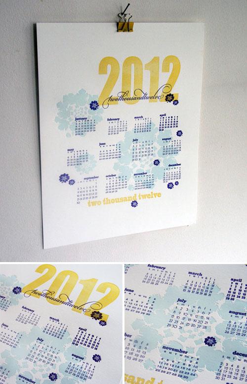 Steel Petal Press Calendar