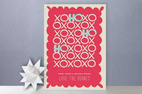 Hugs + Kisses Holiday Cards