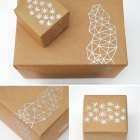 Metallic Pen Gift Wrap