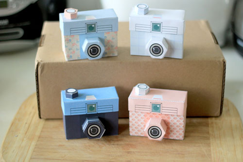 TOUGHIE Printable Paper Camera