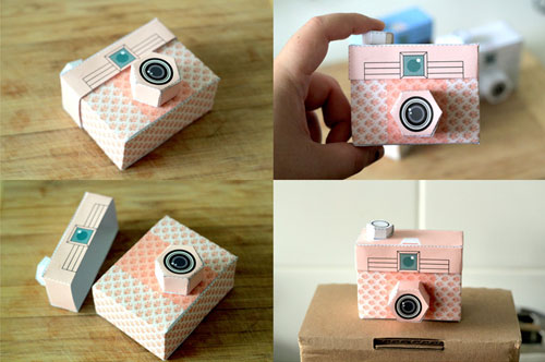 DIY Paper Camera