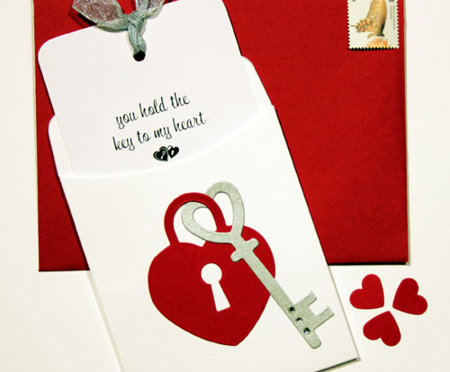 Pocket Card Valentine's Day