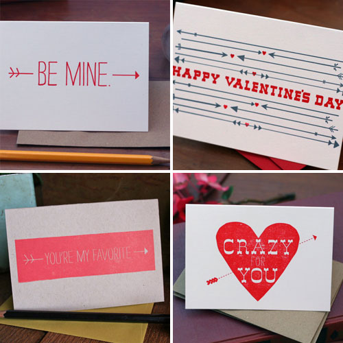 Tabletop Made Valentines