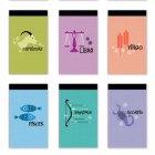 Zodiac Matchbook Jotters
