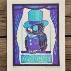 Gentleman Owl Print