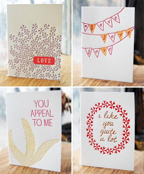 Studio Olivine Letterpress Cards