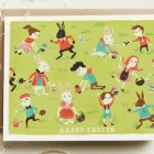 Quill & Fox Easter Card