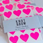 Neon Heart Stickers