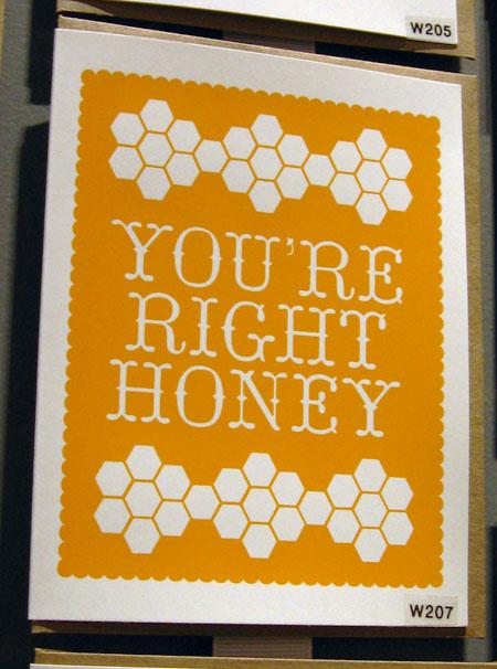 Orange Twist You're Right Honey