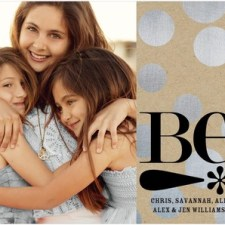 Be Shiny Holiday Photo Card