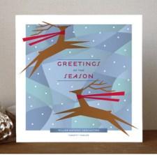 Joyful Reindeer Business Holiday Cards