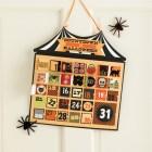 Martha Stewart Crafts Halloween Countdown Calendar