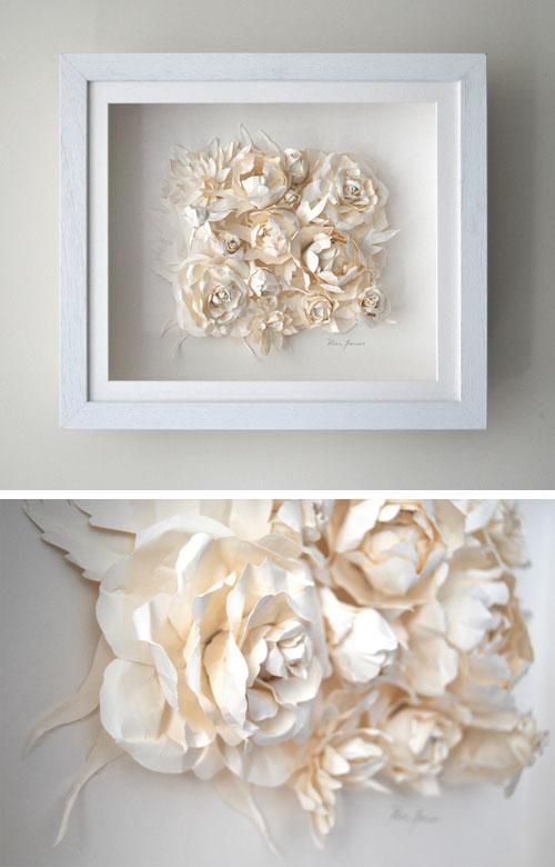 Paper Flower Cluster