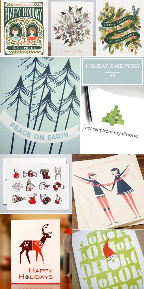 Holiday Card Picks 2012 #2