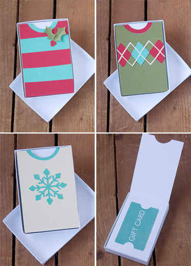 Gift Card Holder Die Cutting Files