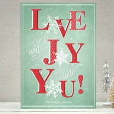 Love & Joy Snowflakes Holiday Cards