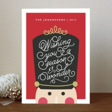 Nutcracker Wonder Holiday Cards
