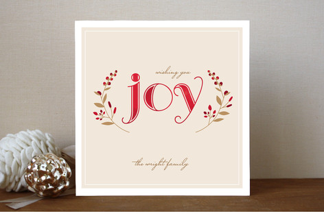 Serene Joy Holiday Cards