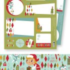 Helen Dardik Holiday Gift Wrap