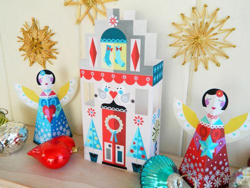 Ellen Giggenbach Holiday Paper Craft