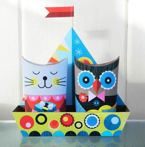 Paper Craft Kit by Ellen Giggenbach
