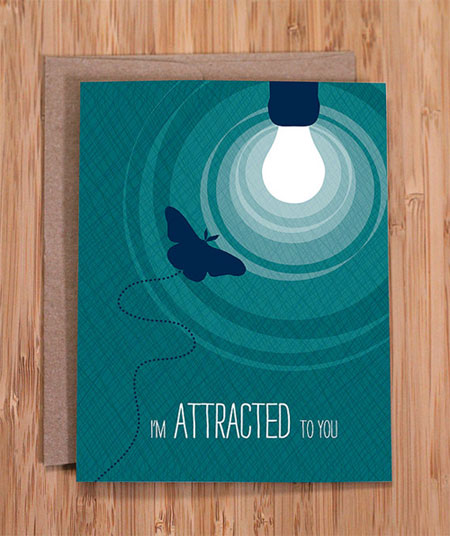 I'm Attracted to You Card