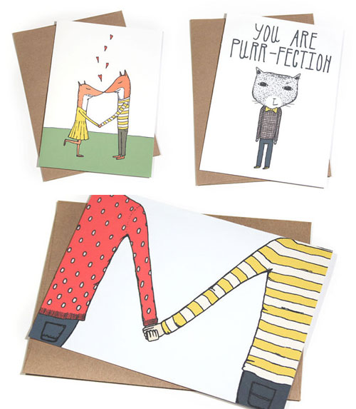 Whimsical Love Cards by Hello Small World