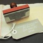 Ladyfingers Letterpress Custom Rubber Stamps