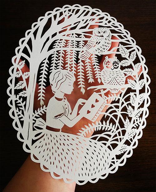 Sarah Trumbauer Papercut